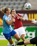 Johanna Rasmussen , Women's EURO 2009 in Finland.Denmark-Netherlands, 08292009, Lahti Stadium