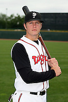 June 17th 2008:  Kevin Aherns of the Lansing Lugnuts, Class-A affiliate of the Toronto Blue Jays, during the Midwest League All-Star Game at Dow Diamond in Midland, MI.  Photo by:  Mike Janes/Four Seam Images