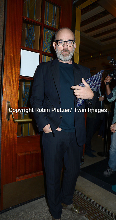 Michael Stipe attends the  Roberto Bolle and Friends dancing at City Center on September 17, 2013 in New York City.