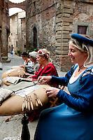 ITALY - Tuscany - Artisan Lace of Anghiari,