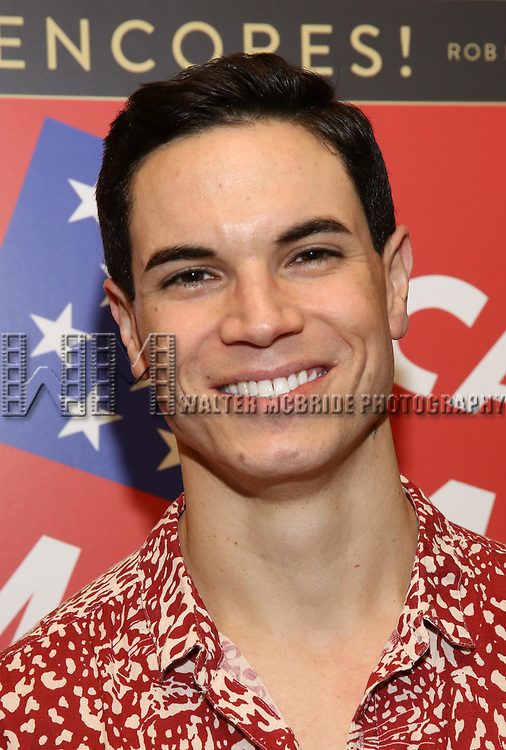 """Jason Gotay attends the closing Night performance reception for Encores! """"Call Me Madam"""" at City Center on February 10, 2019 in New York City."""