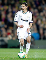 Real Madrid's Angel Di Maria during Copa del Rey - King's Cup semifinal second match.February 26,2013. (ALTERPHOTOS/Acero) /NortePhoto