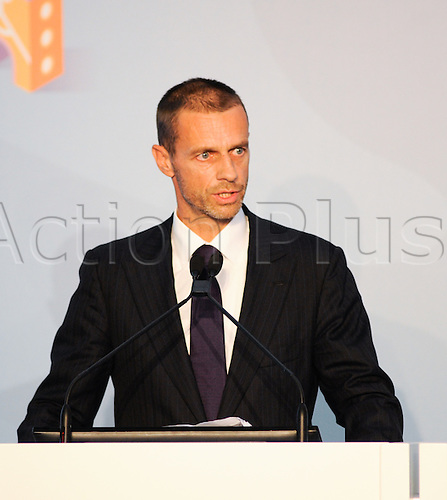 22.09.2016. Rome, Italy. Presentation of Rome's Euro2020 Logo for the event. The president of Uefa Aleksander Ceferin