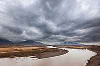 Nigu river, Brooks range mountains, National Petroleum Reserve, Alaska.