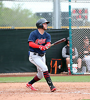 Alexis Pantoja - Cleveland Indians 2020 spring training (Bill Mitchell)