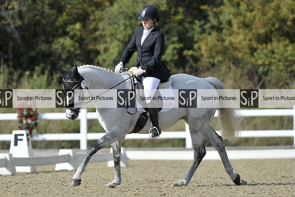 Arena 3. Petplan Equine British Dressage Festival. Brook Farm Training Centre. Essex. 11/10/2015. MANDATORY Credit Ellie Ingram/Sportinpictures - NO UNAUTHORISED USE - 07837 394578