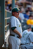 George Horton, head coach of the Oregon Ducks, before a game against the Arizona State Sun Devils at Packard Stadium, Tempe, AZ - 05/15/2009..Photo by:  Bill Mitchell/Four Seam Images