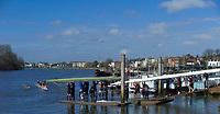 Hammersmith. London. United Kingdom,  2018 Men's Head of the River Race.  location Barnes Bridge, Championship Course, Putney to Mortlake. River Thames, <br /> <br /> Sunday   11/03/2018<br /> <br /> [Mandatory Credit:Peter SPURRIER Intersport Images]<br /> <br /> Leica Camera AG  M9 Digital Camera  1/1500 sec. 50 mm f. 160 ISO.  17.5MB
