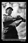 Charles Haughey loads his gun the start the Dingle Regatta in 1994.<br /> Picture: macmonagle archive<br /> e: info@macmonagle.com