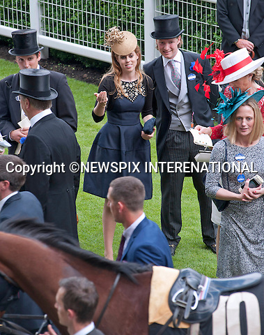 PRINCESS BEATRICE<br /> observes the horses prior to the race at the Royal Meeting at Ascot on Ladies Day, Ascot Racecourse, Ascot_20/06/2013<br /> Mandatory Credit Photo: &copy;Joe Dias/NEWSPIX INTERNATIONAL<br /> <br /> **ALL FEES PAYABLE TO: &quot;NEWSPIX INTERNATIONAL&quot;**<br /> <br /> IMMEDIATE CONFIRMATION OF USAGE REQUIRED:<br /> Newspix International, 31 Chinnery Hill, Bishop's Stortford, ENGLAND CM23 3PS<br /> Tel:+441279 324672  ; Fax: +441279656877<br /> Mobile:  07775681153<br /> e-mail: info@newspixinternational.co.uk