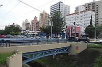 Campinas (SP), 10/01/2020 - Trecho do corrego na avenida Orosimbo Maia em Campinas com a rua avenida Brasil.