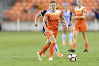 Houston, TX - Saturday July 15, 2017: Andressa Cavalari Machry during a regular season National Women's Soccer League (NWSL) match between the Houston Dash and the Washington Spirit at BBVA Compass Stadium.