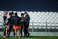 Jaguares captain's run at Rotorua International Stadium in Rotorua, New Zealand on Thursday, 3 May 2018. Photo: Dave Lintott / lintottphoto.co.nz