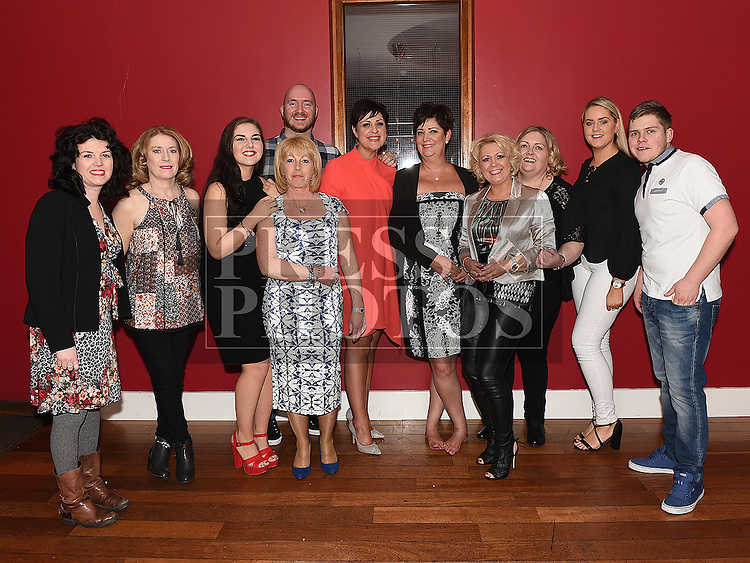 Brenda Murtagh celebrating her 50th birthday in Bru with friends. Photo:Colin Bell/pressphotos.ie