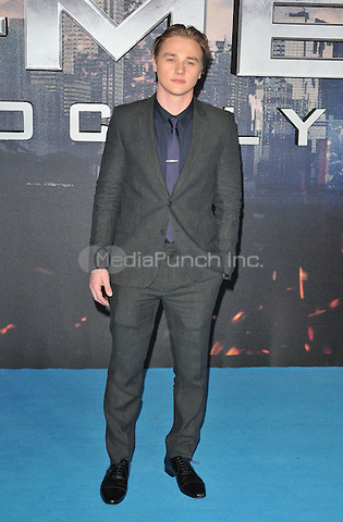 Ben Hardy at the &quot;X-Men : Apocalypse&quot; global fan screening, BFI Imax, Charlie Chaplin Walk, London, England, UK, on Monday 09 May 2016.<br /> CAP/CAN<br /> &copy;CAN/Capital Pictures /MediaPunch ***NORTH AMERICA AND SOUTH AMERICA ONLY***