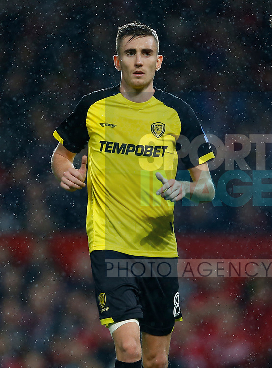 Matthew Lund of Burton Albion during the Carabao Cup Third Round match at the Old Trafford Stadium, Manchester. Picture date 20th September 2017. Picture credit should read: Simon Bellis/Sportimage