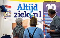 Nederland - Utrecht - 2018. De Nationale Gezondheidsbeurs. Altijd Ziek. Stichting voor afweerstoornissen. Berlinda van Dam / Hollandse Hoogte
