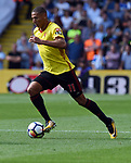 Richarlison of Watford during the premier league match at the Vicarage Road Stadium, Watford. Picture date 26th August 2017. Picture credit should read: Robin Parker/Sportimage