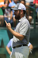 Louis Oosthuizen (RSA) on the 1st tee to start his match during Thursday's Round 1 of the 117th U.S. Open Championship 2017 held at Erin Hills, Erin, Wisconsin, USA. 15th June 2017.<br /> Picture: Eoin Clarke | Golffile<br /> <br /> <br /> All photos usage must carry mandatory copyright credit (&copy; Golffile | Eoin Clarke)