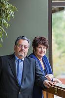 Jerome Fishkin & Lindsay Slatter pictures: executive portrait photography of Jerome Fishkin & Lindsay Slatter of FishkinSlatter, by San Francisco corporate photographer Eric Millette
