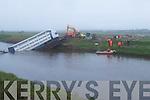 the Bridge that collasped at Ballinagar Road, Lixnaw, on Thursday