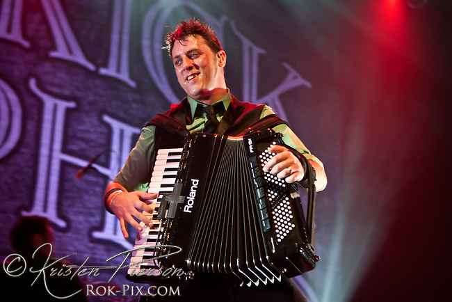 Dropkick Murphys perform at the House of Blues in Boston, Massachusetts on March 17, 2013