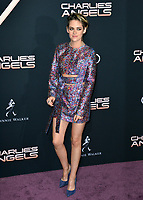 "LOS ANGELES, USA. November 12, 2019: Kristen Stewart at the world premiere of ""Charlie's Angels"" at the Regency Village Theatre.<br /> Picture: Paul Smith/Featureflash"