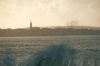 Europe/France/Bretagne/29/Finistère/Douarnenez: Lumière du soir sur la baie