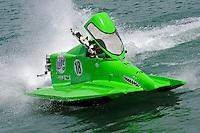 26  July, 2009, Trenton, Michigan USA.SST-45 class World Champ Jason Nelson (#18)..©2009 F.Peirce Williams USA.SST-45 class