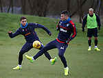 Harry Forrester and Michael O'Halloran