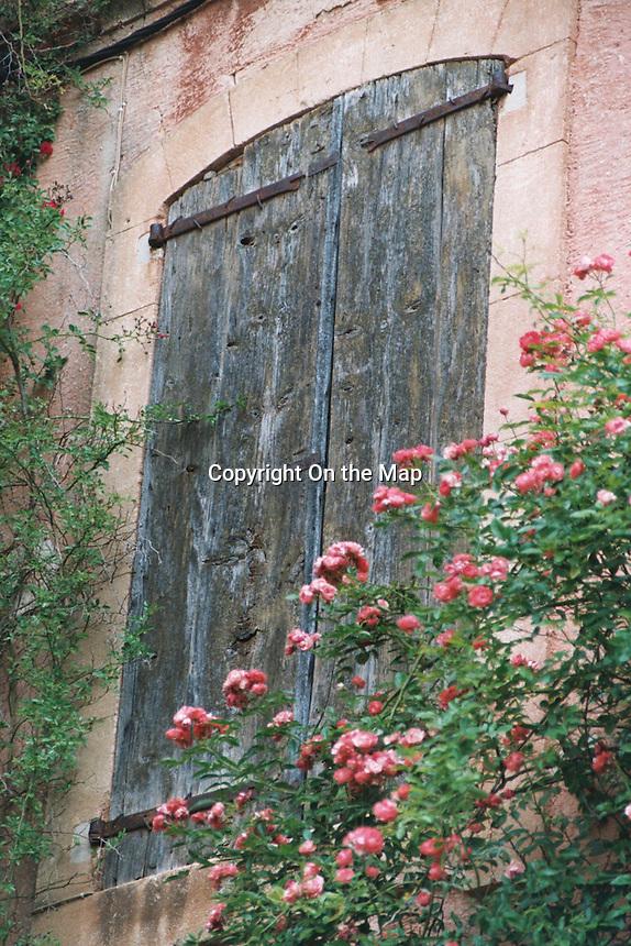 Rose door