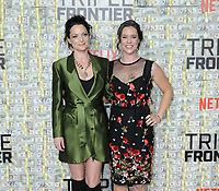 "03 March 2019 - New York, New York - Kimberly Williams-Paisley and Ashley Williams. The World Premiere of ""Triple Frontier"" at Jazz at Lincoln Center. Photo Credit: LJ Fotos/AdMedia"