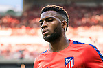 Thomas Lemar of Atletico de Madrid is seen prior to the La Liga 2018-19 match between Atletico de Madrid and Rayo Vallecano at Wanda Metropolitano on August 25 2018 in Madrid, Spain. Photo by Diego Souto / Power Sport Images
