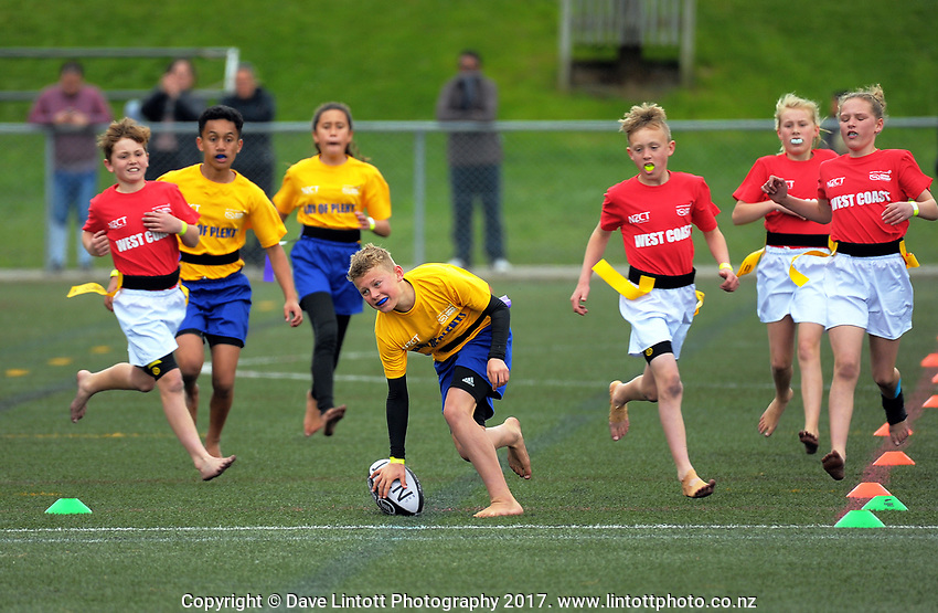 Bay of Plenty v West Coast. Day one of the 2017 Air NZ Rippa Rugby Championship at Wakefield Park in Wellington, New Zealand on Monday, 18 September 2017. Photo: Dave Lintott / lintottphoto.co.nz