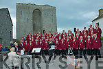 Dursley Male Voice Choir from England performing in the grounds of Listowel Castle on Sunday afternoon as part of Listowel's Rugby Club 110 years celebration.