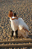 Trash the dress, post-wedding, lifestyle portraits at Baker Beach, San Francisco.  You were amazing!  Loveliest couple to photograph.