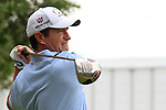 Steve Webster tees off on the 10th tee during Thusday Day 1 of the Abu Dhabi HSBC Golf Championship, 20th January 2011..(Picture Eoin Clarke/www.golffile.ie)