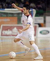 Caja Segovia's David Ruiz during Spanish National Futsal League match.November 24,2012. (ALTERPHOTOS/Acero) /NortePhoto