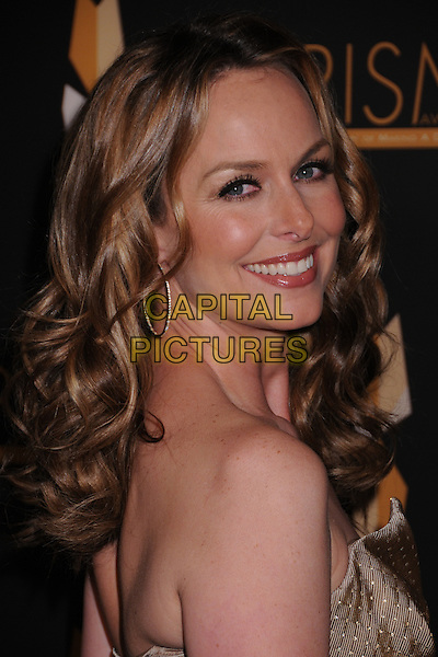 MELORA HARDIN.12th Annual PRISM Awards at the Beverly Hills Hotel, Beverly Hills, California, USA..April 24th, 2008.strapless headshot portrait looking over shoulder .CAP/ADM/BP.©Byron Purvis/AdMedia/Capital Pictures.