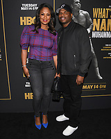 "08 May 2019 - Los Angeles, California - Laila Ali, Curtis Conway. ""What's My Name: Muhammad Ali"" HBO Premiere held at Regal Cinemas LA LIVE 14. Photo Credit: Billy Bennight/AdMedia"