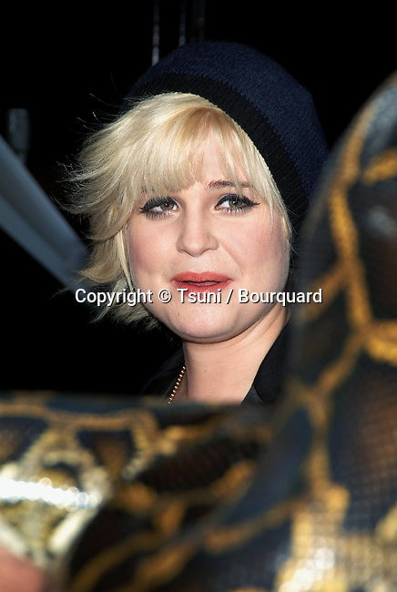 Kelly Osbourne arriving at the SNAKE ON A PLANE Premiere at the Chinese Theatre Los Angeles. August 17, 2006.