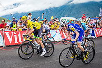 Picture by Alex Whitehead/SWpix.com - 13/07/2017 - Cycling - Le Tour de France - Stage 12, Pau to Peyragudes - Chris Froome of Team Sky in action up the Peyragudes climb.
