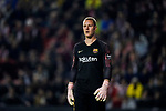 Goalkeeper Marc-Andre Ter Stegen of FC Barcelona is seen prior to the La Liga 2018-19 match between Rayo Vallecano and FC Barcelona at Estadio de Vallecas, on November 03 2018 in Madrid, Spain. Photo by Diego Gouto / Power Sport Images