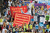 Protect our Welfare State and Public Services march called by the National Pensioners Convention, London