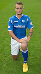 St Johnstone FC Photocall, 2015-16 Season....03.08.15<br /> Ally Gilchrist<br /> Picture by Graeme Hart.<br /> Copyright Perthshire Picture Agency<br /> Tel: 01738 623350  Mobile: 07990 594431