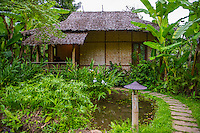 Thailand, Mae Hong Son. Fern Resort. Bungalow rooms.