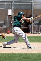 Frank Martinez - Oakland Athletics - 2009 spring training.Photo by:  Bill Mitchell/Four Seam Images