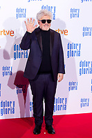 Pedro Almodovar attends the movie premiere of 'Dolor y gloria' in Capitol Cinema, Madrid 13th March 2019. (ALTERPHOTOS/Alconada)<br /> Foto Alterphotos / Insidefoto<br /> ITALY ONLY