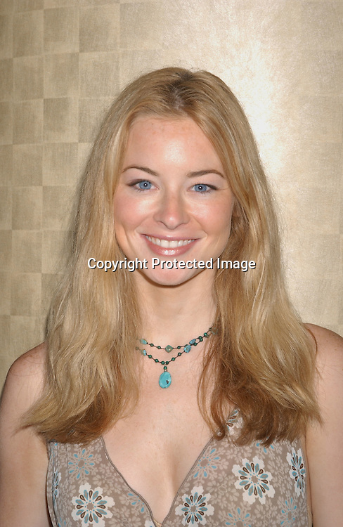 Jessica Morris                                        ..at the One Life To Live Fan Club Luncheon on August 9,2003 at the Marriott Marquis Hotel. Photo by Robin Platzer, Twin Images