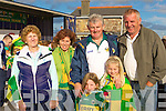 Ellen, Joan, Pat, Sarah, Rachel and Denis O'Sullivan Scartaglen in Rathmore for the Kerry team homecoming on Monday